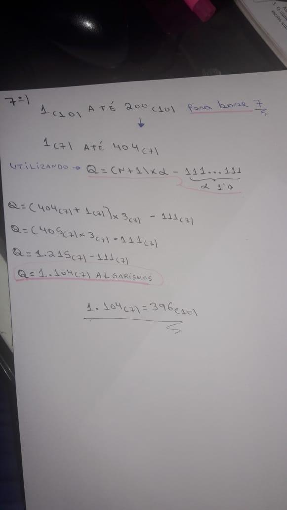 ARITMÉTICA: NUMERAÇÃO NÃO DECIMAL (LACERDA). Whatsa11