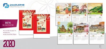 Dịch vụ in lịch tết đẹp phong phú đa dạng tại Hà Nội Inlich11