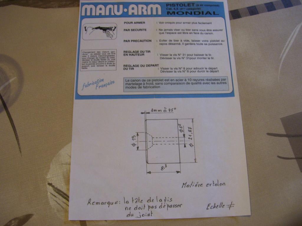 Restauration Carabine Manu-Arm Cal 4.5 Made In France - Années 90 Plan_p10