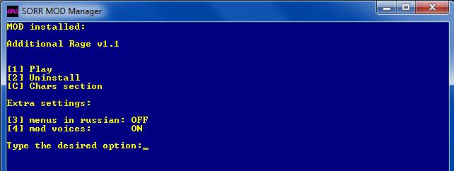 [Utility] GMS - SoRR Mod Manager Addrag11