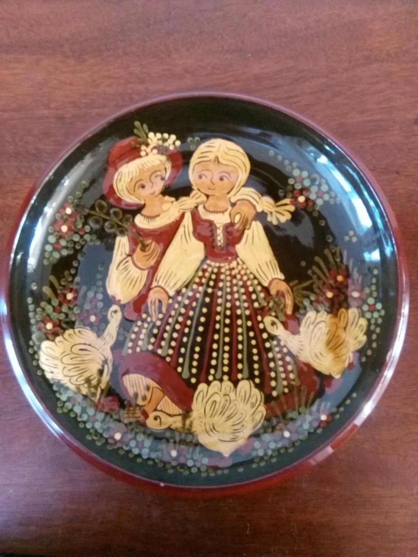 Swiss slipware plate - possibly Kohler Biel Img_2011