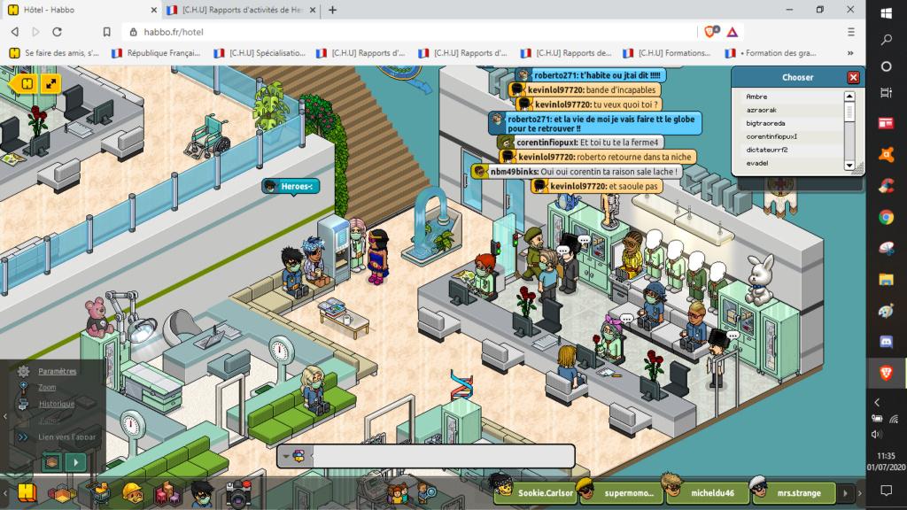 [C.H.U] Rapports d'activités de Heroes- - Page 7 01072010
