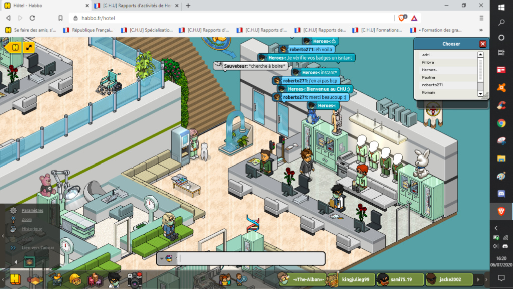 [C.H.U] Rapports d'activités de Heroes- - Page 7 06072011