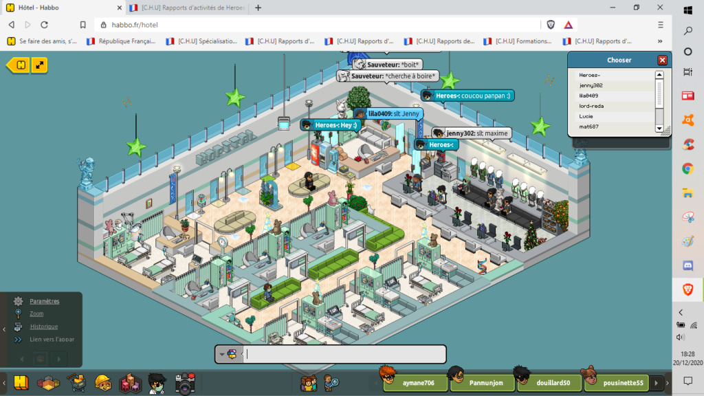 [C.H.U] Rapports d'activités de Heroes- - Page 12 20122010