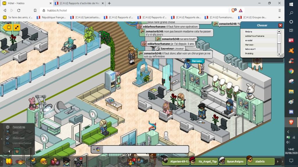 [C.H.U] Rapports d'activités de Heroes- - Page 7 30062011