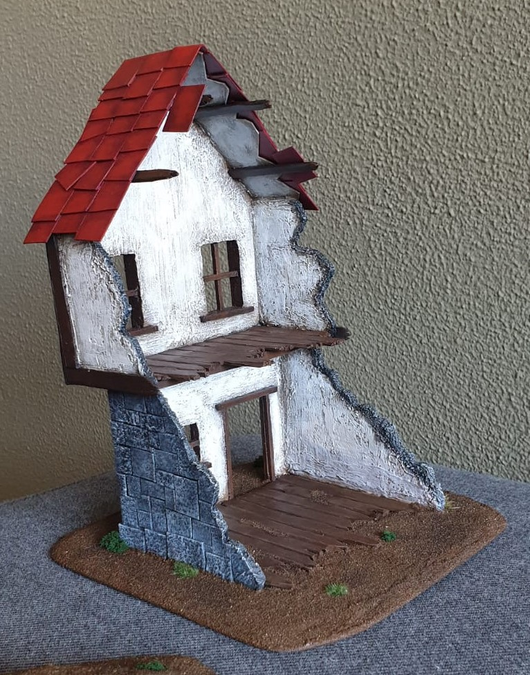 Building the Grand Barony of Hochland - Terrain log by Tag. House_13