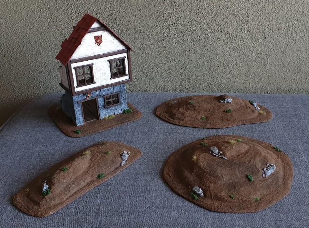 Building the Grand Barony of Hochland - Terrain log by Tag. Terrai10
