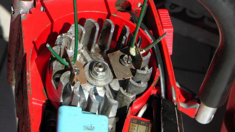 Homelite XL-Mini Automatic  avviamento difficoltoso 610