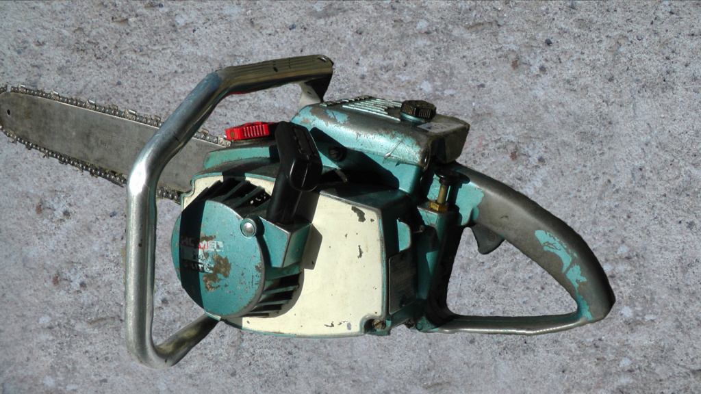 HOMELITE SUPER XL-AO Old Blue Ho-1210