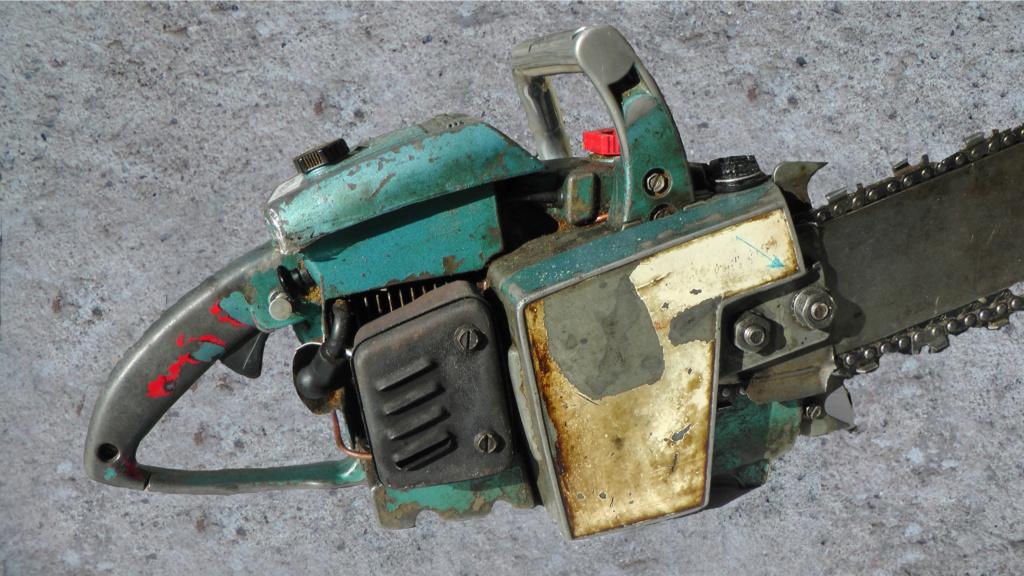 HOMELITE SUPER XL-AO Old Blue Ho-1510