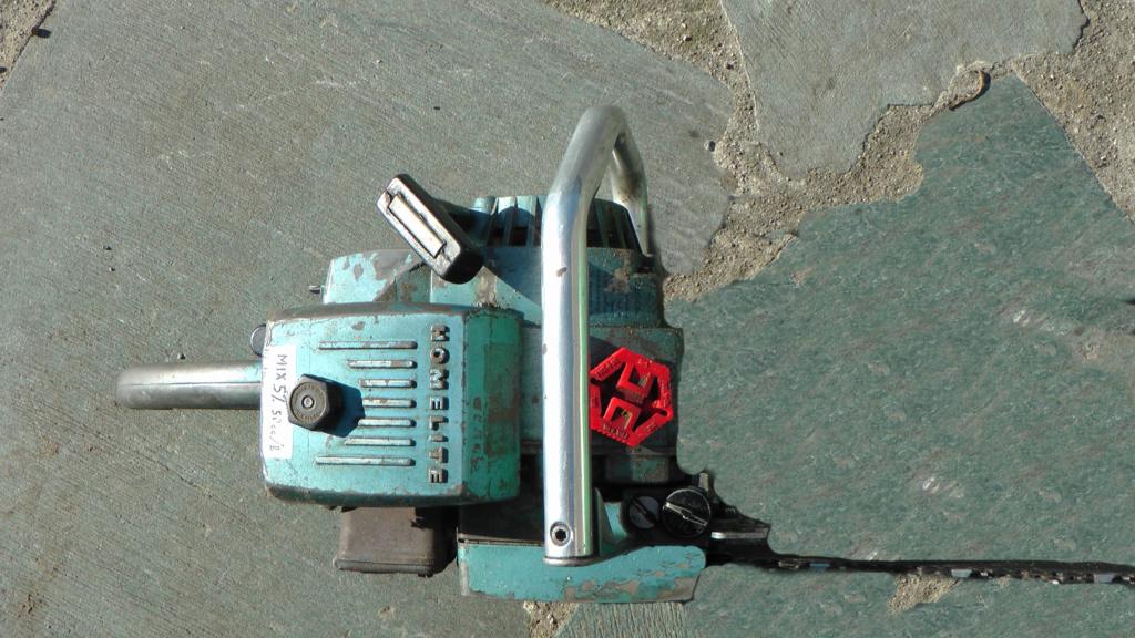 HOMELITE SUPER XL-AO Old Blue S1830010