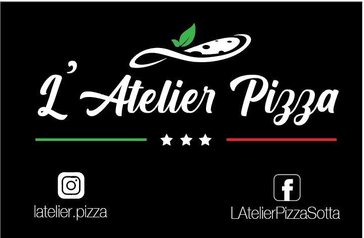 Cartes, Menus et Adhésifs de L'Atelier Pizza Carte_10