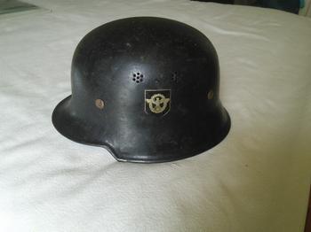 Casque camouflé heer et m34 police allemande  19d06f10