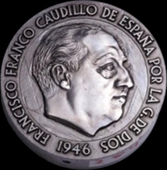 1 peseta 1946. Estado Español. ¿Prueba de circulación? - Página 17 2p194610