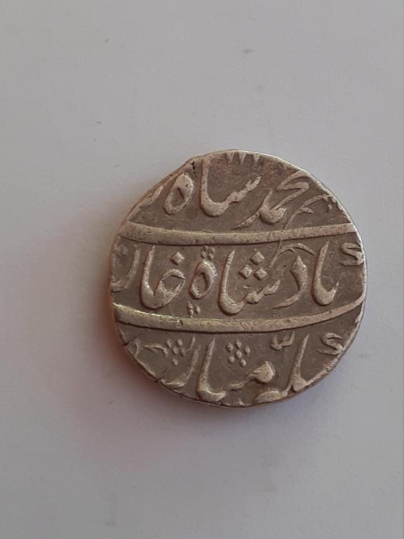 1 Rupia. Imperio mogol de la India (1719-1748) Emperador Muhammad Shah 113911