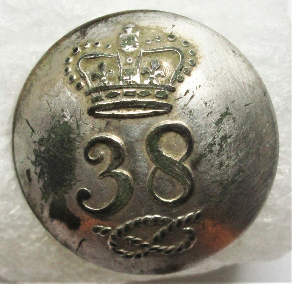 Botones inglese/escoceses de la guerra de independencia 3810