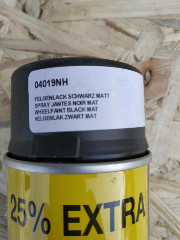 Huile 5w30 504-507, feu arriere gauche, bombe peinture jante noir, rta t5 9fdf5b11