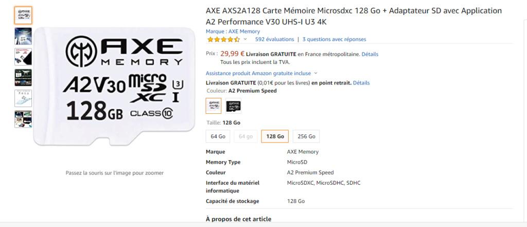 Carte SD XC ou HC ??? Carte10