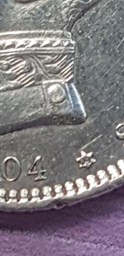1 peseta 1904 Alfonso XIII *19*04 20200913