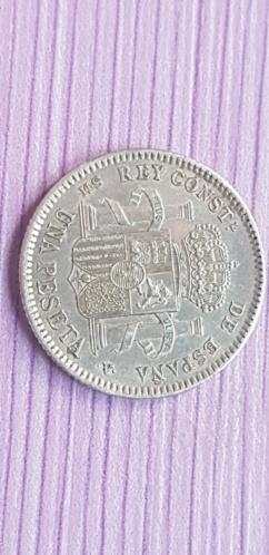 1 peseta 1904 Alfonso XIII *19*04 20200914