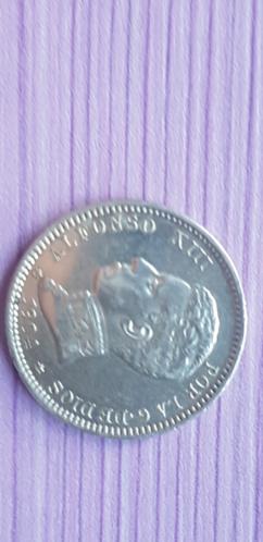 1 peseta 1904 Alfonso XIII *19*04 20200917
