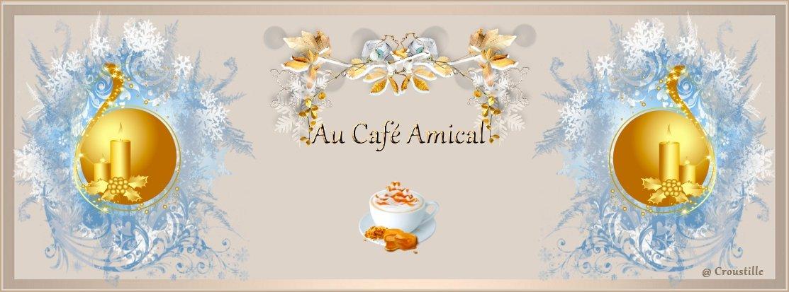 Au café amical