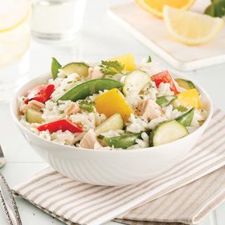 Salade de riz aux légumes et thon Riz_et10