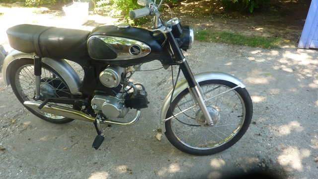 MA HONDA C320 50cc 3 vitesses tournantes à la poignée 20080511