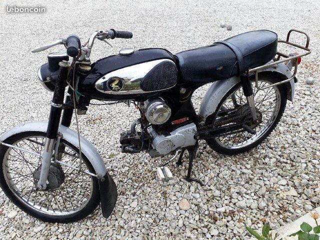 MA HONDA C320 50cc 3 vitesses tournantes à la poignée Mon-c313