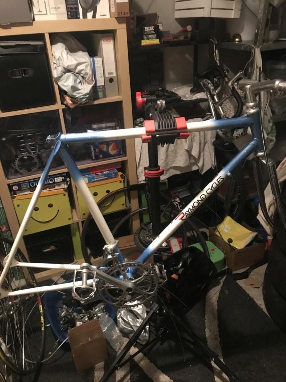 Cadre Raymond cycle (cinelli et mercier) je recherche information sur mon cadre D4308510
