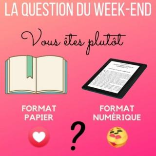 La question du week-end : vous êtes plutôt livre papier ou liseuse ? Copie_39