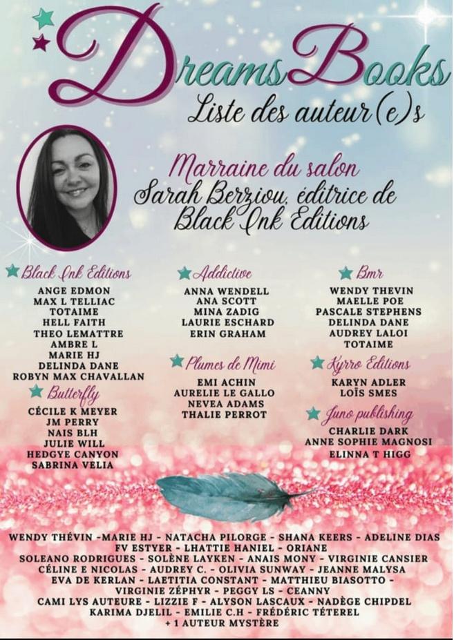 Dreams books - Salon de la romance - 11 et 12 septembre 2021 Sans_t10