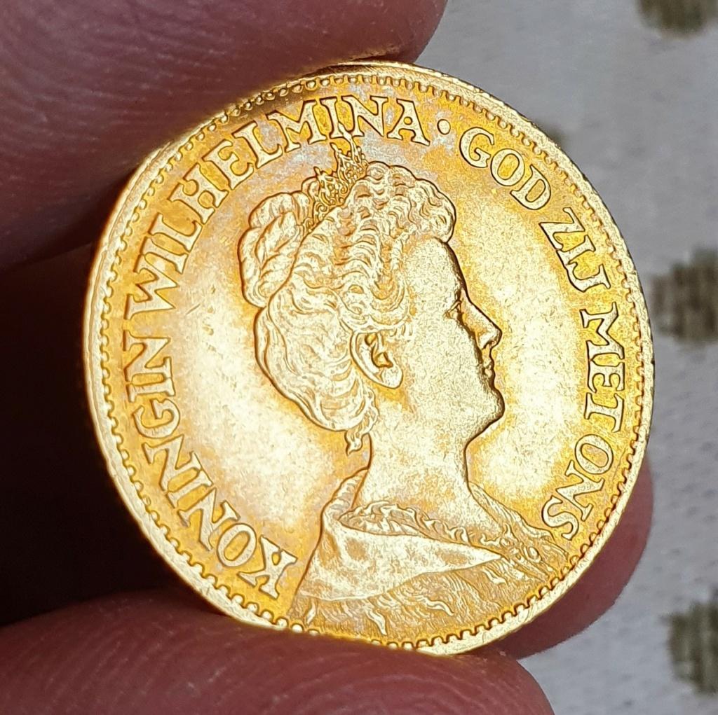 Oro. 10 Gulden 1911. Países Bajos. Opinión. 20210614