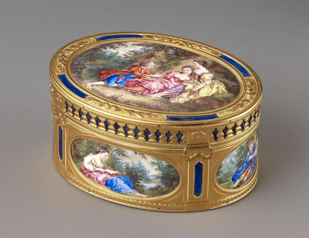 Le mécénat et les collections d'art et arts décoratifs de la princesse de Lamballe Gold_b11