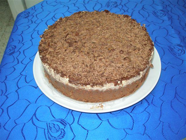 Gâteau aux trois chocolats  Pa070010