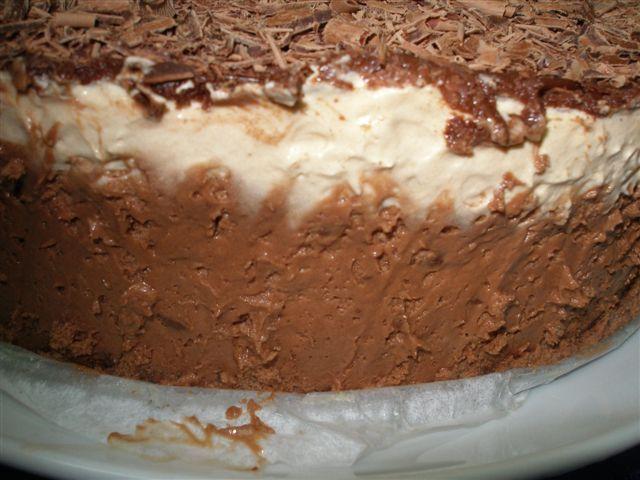 Gâteau aux trois chocolats  Pa070011