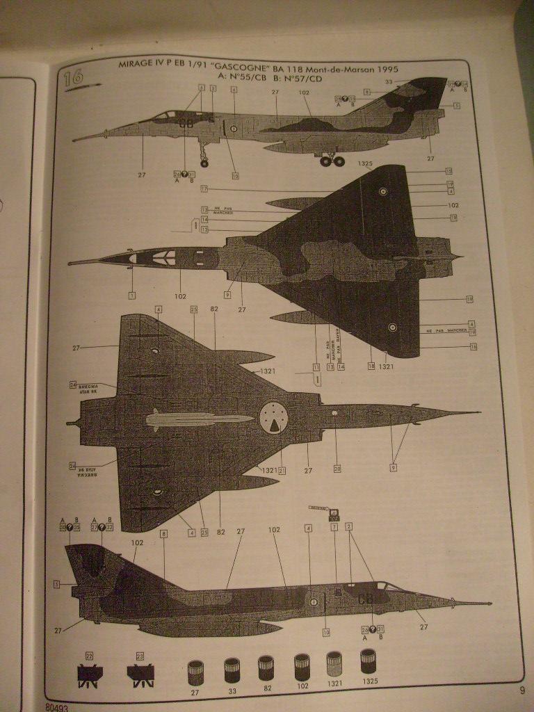 [Heller] Mirage 4 P au 48 eme S7305830