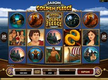 Microgaming casino game : Jason and the Golden Fleece
