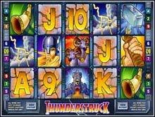 Microgaming casino game : ThunderStruck