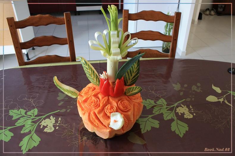 Sculpture sur fruits et légumes Img_9512