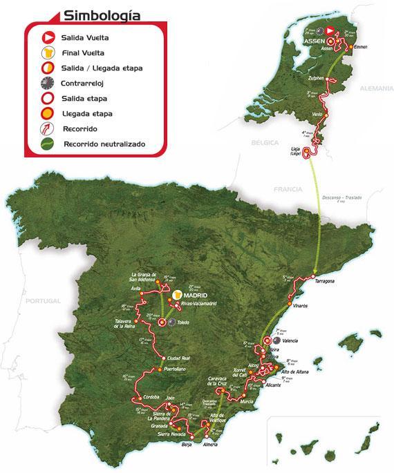 CYCLISME : VUELTA 2009 Vuelta10