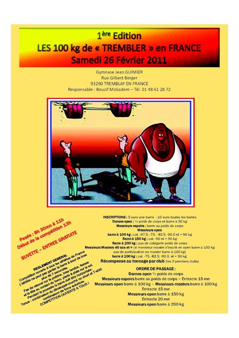 france - 100 kg de tremblay en france 10020k10