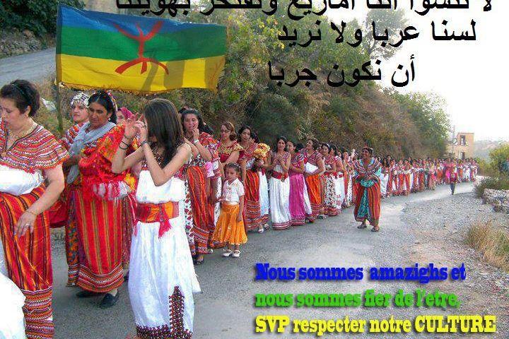 """la marche des femmes kabyle """"Nous sommes amazighs ..........."""" 6962_110"""