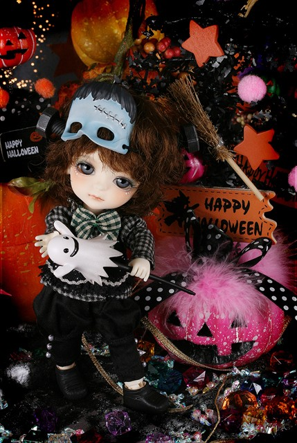 Yellow - Halloween Ver. Frankenstein Miel Hallow15