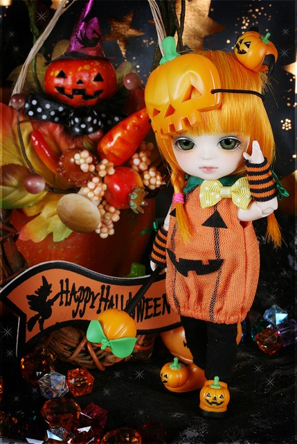 Yellow - Halloween Ver. Pumpkin Lumi Hallow18