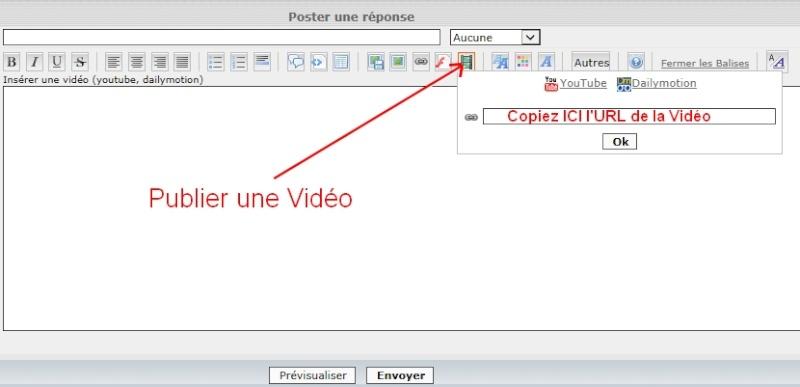 Comment publier vos photos sur le forum Video11