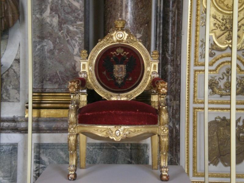 Exposition « Trônes en majesté, l'autorité et son symbole » - Page 6 Salon_19