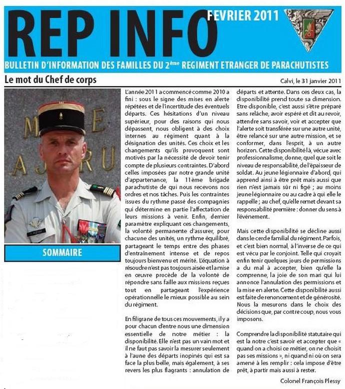 REP INFO  FEVRIER 2011 LEGION ETRANGERE 2 REP Rif111