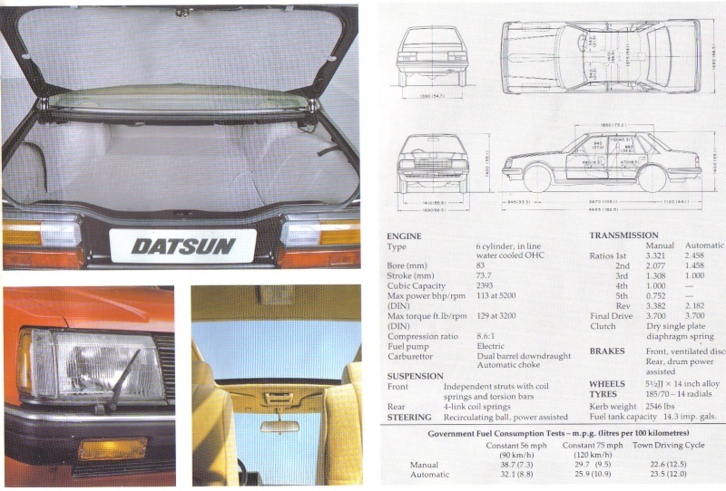 Topic officiel DATSUN LAUREL 200L & 240L Laurel16