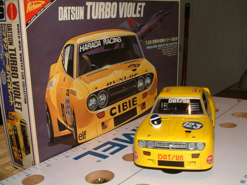 1/24e DATSUN VIOLET TURBO HARADA RACING Maquet11